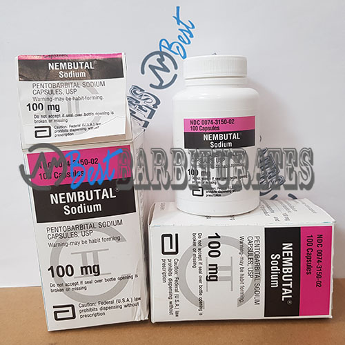 Nembutal Pentobarbital 100 mg tablets